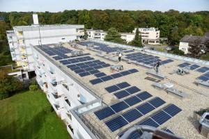 Photovoltaikanlage auf Gebäude Theodor-Heuss-Straße 109